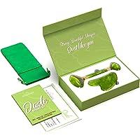 Premium Rodillo de Piedra De Jade Autentico Certificado