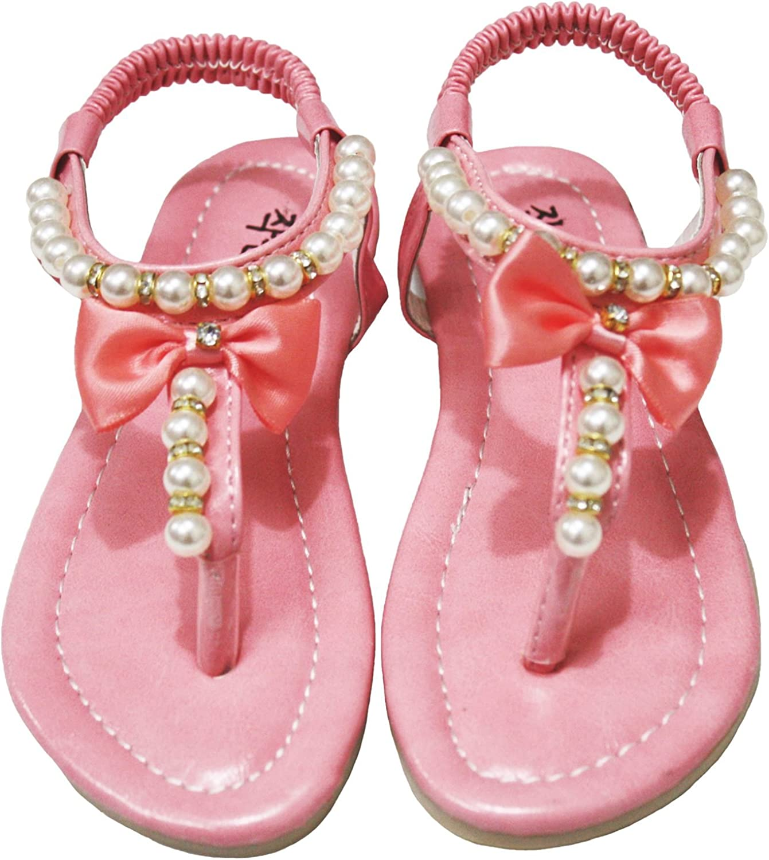 Girl Sandals 601 (7.5 UK, Pink