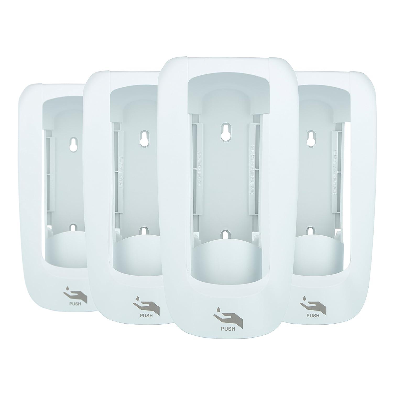 Form + Function Manual 750 mL Dispenser, White, 4-Pack