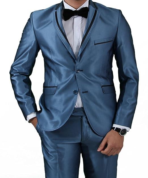 glänzende stellen anzug