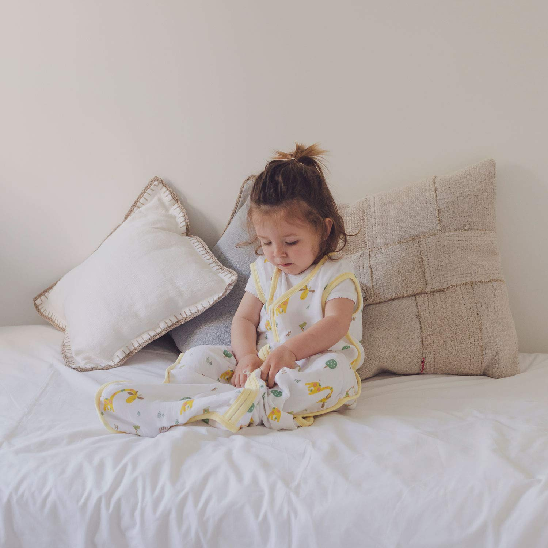 0.5 TOG Muselina Premium. S/úper Suave y Ligero Unisex molis/&co Ideal para Verano Estampado de Kiwi Saco de Dormir para beb/é 80 cm 0-6 Meses