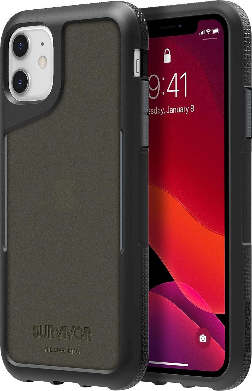 Griffin Survivor Endurance Protective Case for Apple iPhone GIP-031-BKG Black/Grey