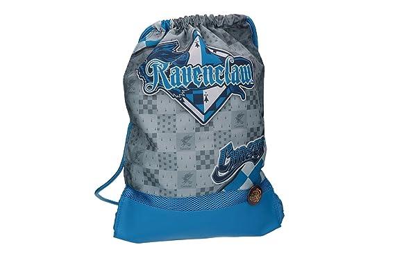 Mochila HARRY POTTER azul bolsa de ocio escolar VZ795: Amazon.es: Ropa y accesorios