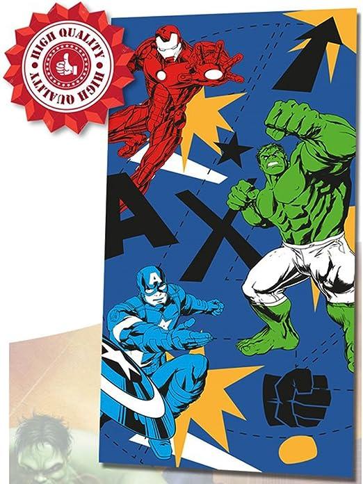 Disney Toalla Playa Avengers Algodón 360gr: Amazon.es: Hogar