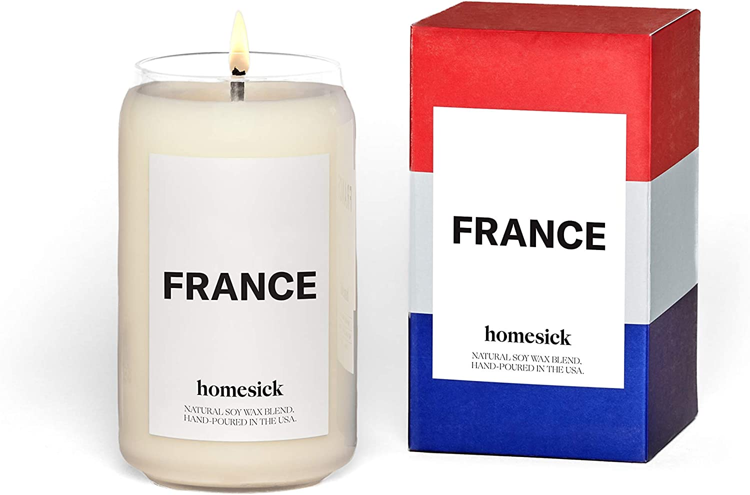 Homesick Scented Candle, France (2020 Version)