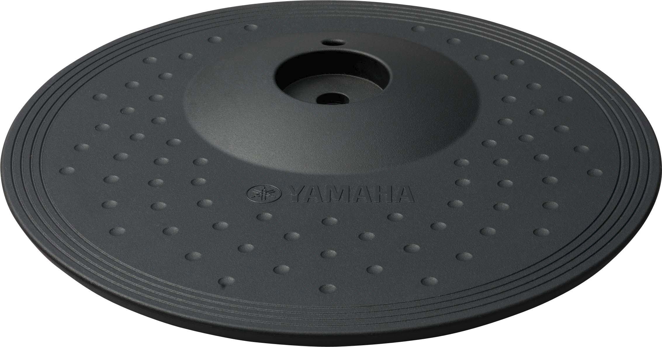 Yamaha PCY100 10'' 3-Zone ''choke-able'' Electronic Cymbal Pad, Black