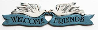 product image for Piazza Pisano Welcome Friends Plaque Door Topper