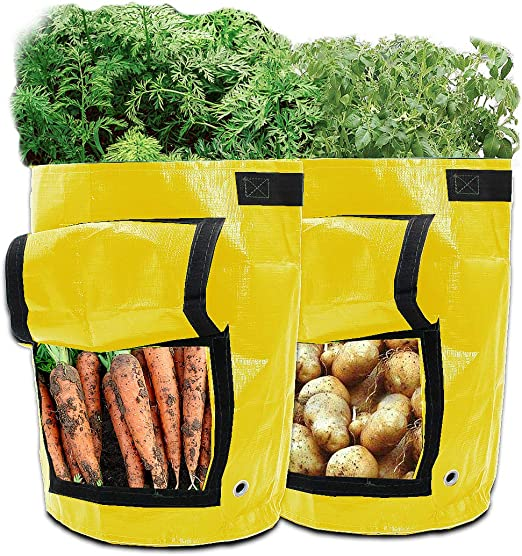 GIOVARA - Bolsas de Cultivo de Patatas (2 Unidades, 7 galones ...