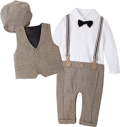 costume frack enfant carnaval barboteuse gentleman noeud papillon 0//6 mois taille 70 papillon
