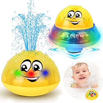 Kids Baby Spray Water Bath Toy Automatic Induction Sprinkler Swimming Pool Gifts