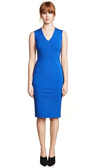 b54ef14d0569 Yigal Azrouel Women s V Neck Dress at Amazon Women s Clothing store
