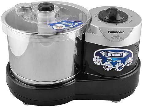 Panasonic MK-SW200BLK Wet Grinder (Black) Mixer Grinders at amazon