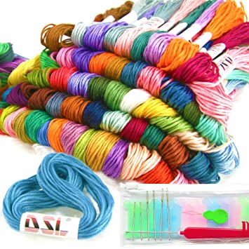 Anchor Stranded Cotton 8m Colours 31-50 100/% Cotton Embroidery Thread Skeins