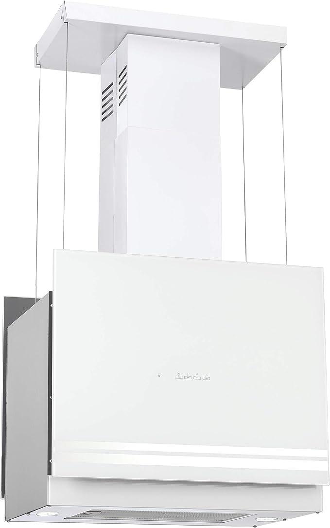 Campana extractora 76 isla cubierta con chimenea colgante 60 cm 850 m3/h: Amazon.es: Grandes electrodomésticos