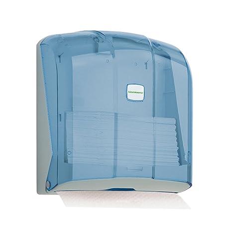 Sani Smart Wisteria – Dispensador de toallas para 300 hojas Z de pliege Max. 25