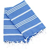 "Cottoncloudco Set of 2 Turkish Towel Hand,Head,Kitchen Towel,Tea Towel,Dish towel,Flour Sack Towels,Dish Cloth,cotton kitchen towel,dish towel set,cotton tea towel,40""x20"""