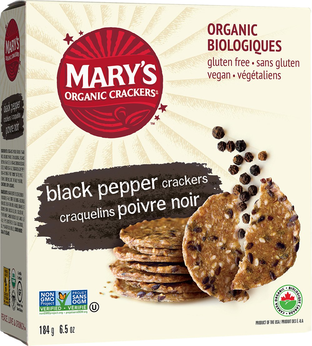 Amazon.com: Mary's Gone Crackers, Super Seed Basil