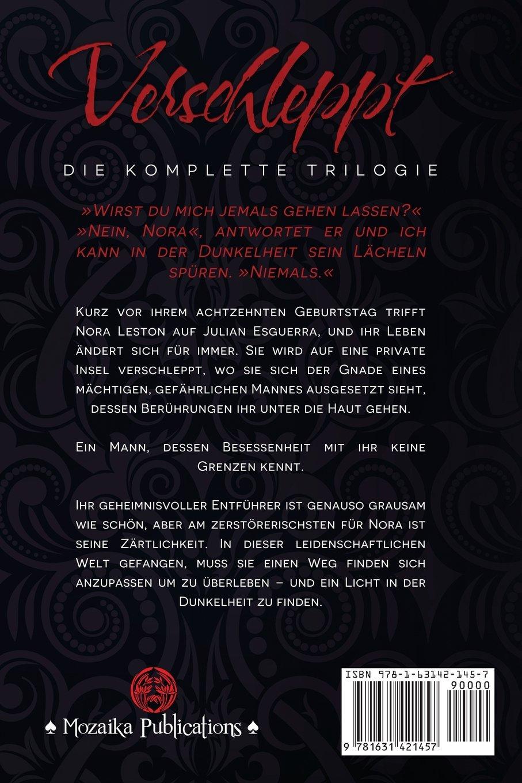 Erotik Romane Sammelband Obsession 12 Wiring Library Stator Diagram 07 Suzuki Ltr 450 Verschleppt Die Komplette Trilogie Amazonde Anna Zaires Dima Zales