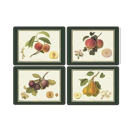 Pimpernel 40.1 x 29.8 cm MDF with Cork Back Hooker Fruits Placemats ...