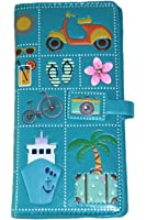 Shagwear Summer Icons Wallet Turquoise