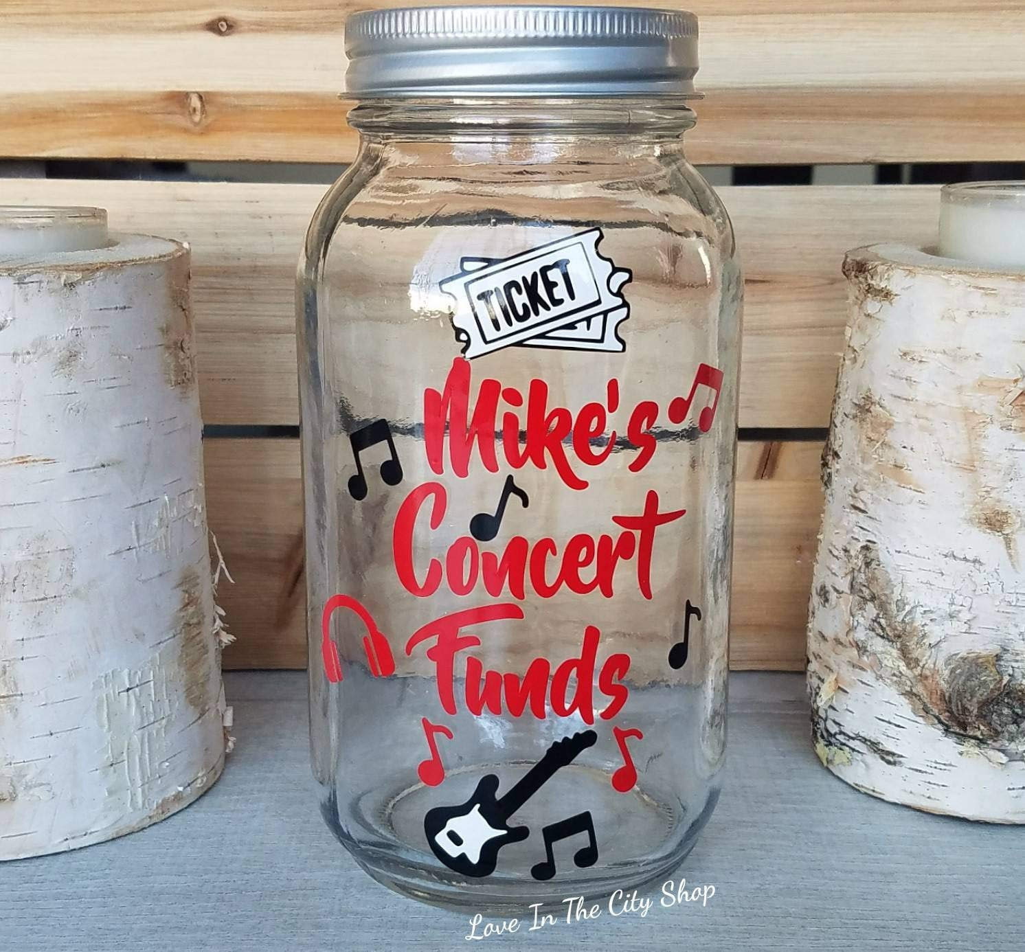 making a perfect savings bank with full customization a fully custom glass bank Concert Bank