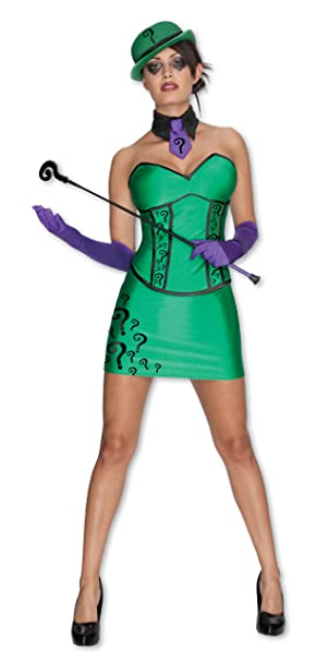 Disfraz The Riddler Batman para mujer - M: Amazon.es: Juguetes y ...
