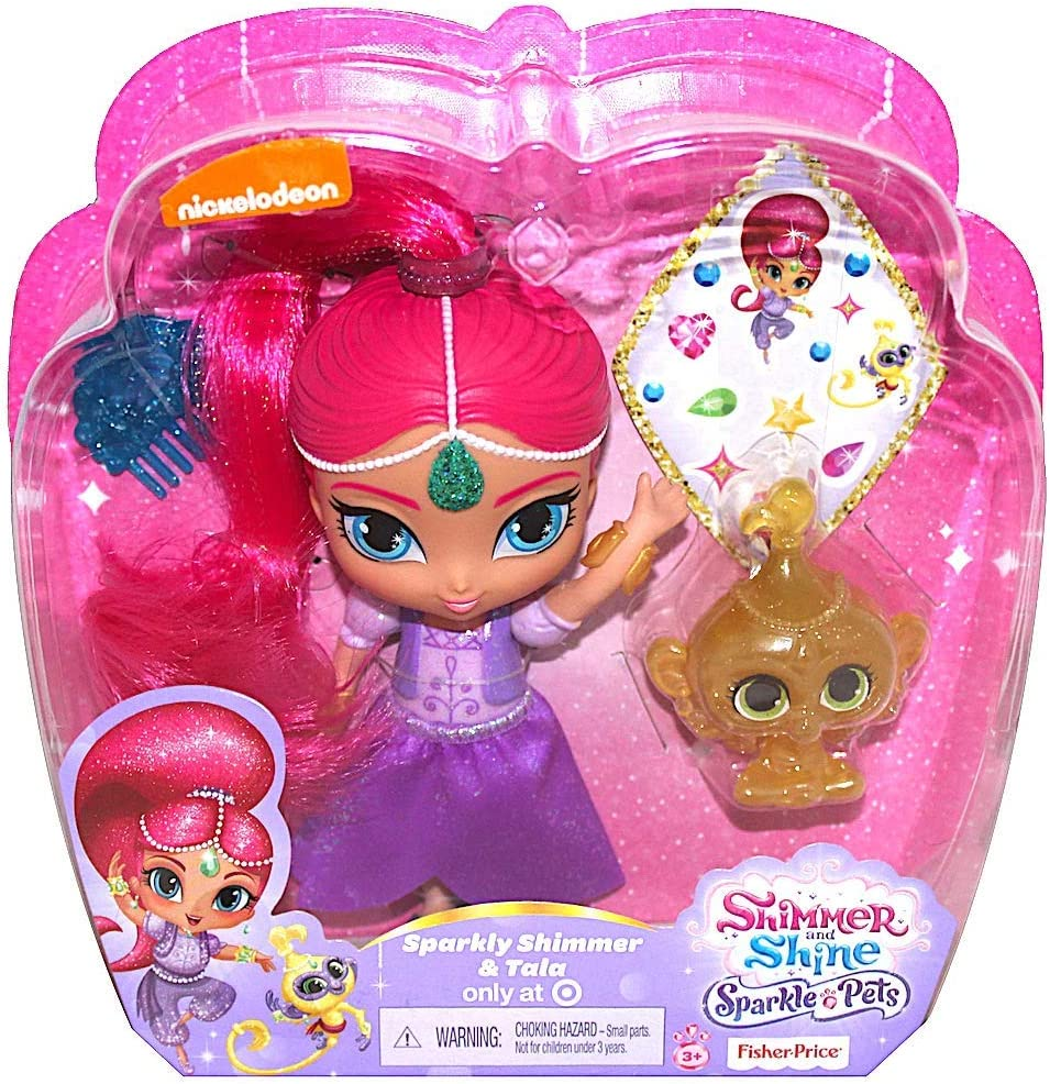 Shimmer and Shine Sparkle Pets – Brillante Shimmer y Tala: Amazon ...