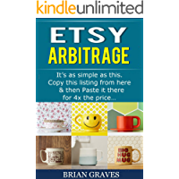 SELLING ON ETSY: Simple Profitable Copy and Paste Etsy Arbitrage Business: 100% replicable! Rinse, Repeat & Scale