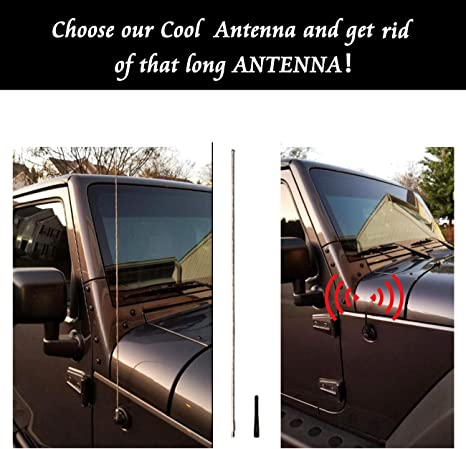Antenna FM//AM Mast Antenna Ricambio Accessorio per Antenna Mustang 8