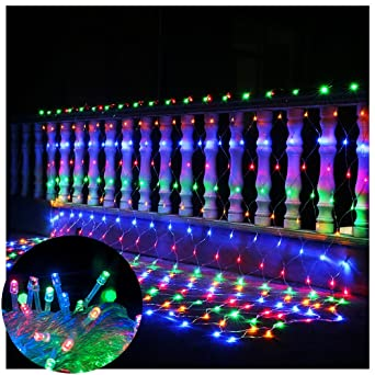 Net lights net mesh fairy string decorative lights98ft x 66ft 208 net lights net mesh fairy string decorative lights98ft x 66ft 208 leds workwithnaturefo