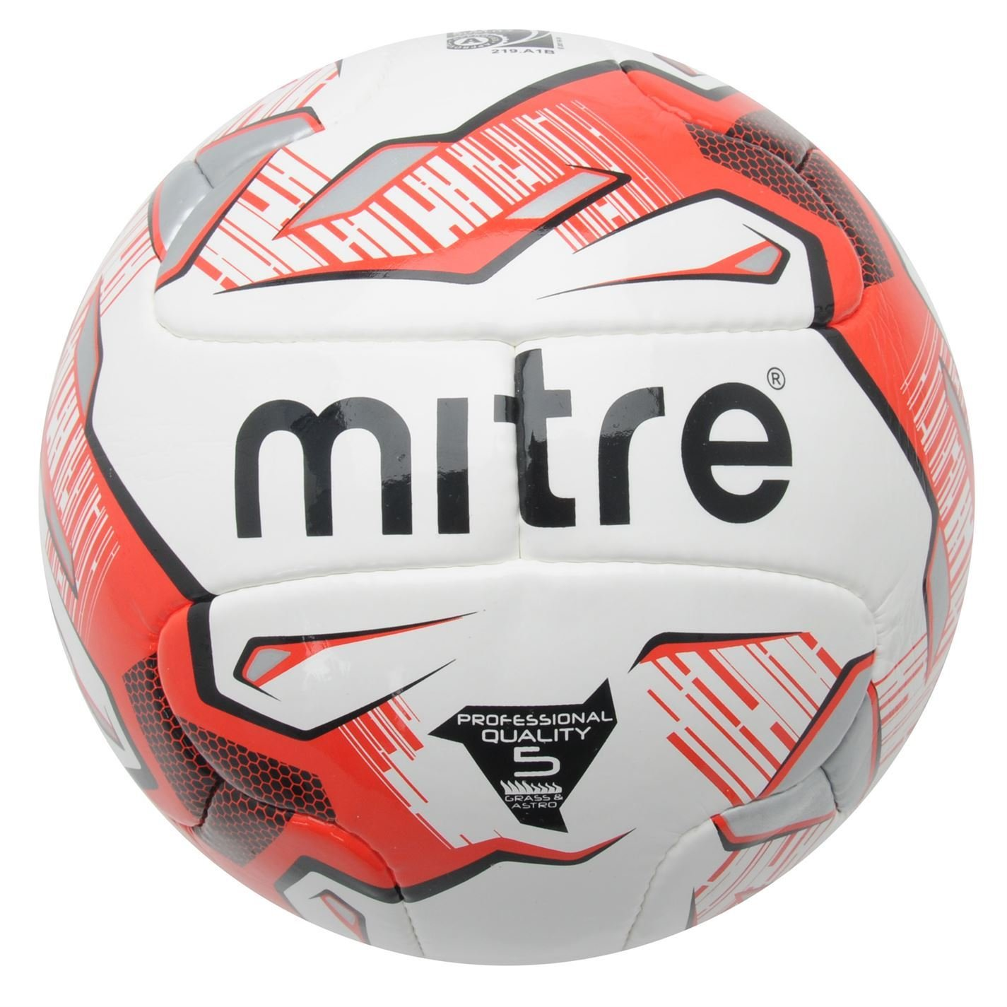 Mitre Max Blanco/Rojo/Negro De Fútbol Balón de fútbol Calidad ...