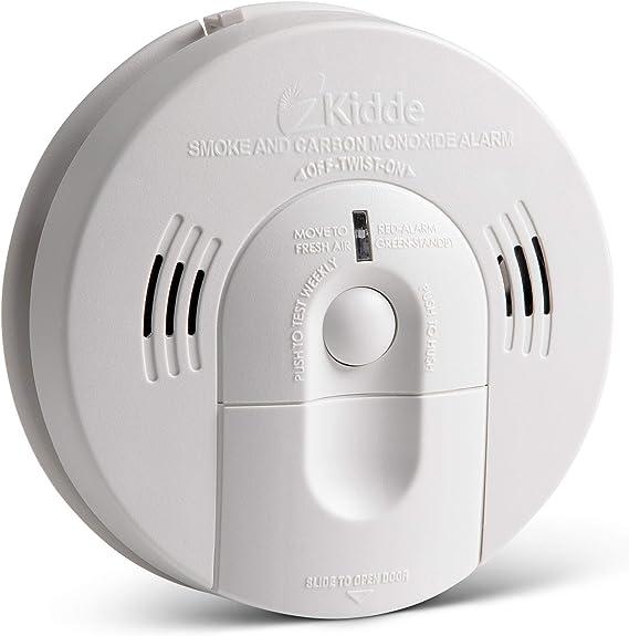 Energizer carbon monoxide alarm digital display battery operated