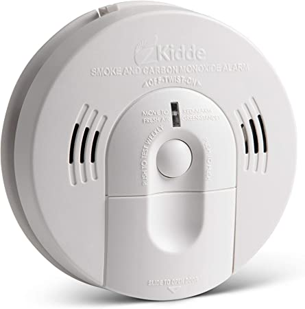 Kidde 21026043 Battery Operated Not Hardwired Combination Smoke