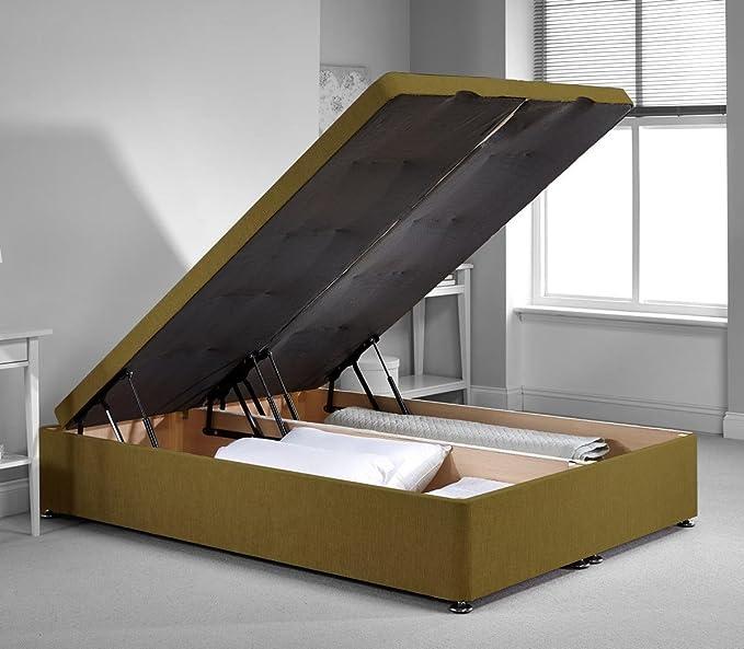 richworth Diván cama otomana marco – Lima felpilla tela – pequeña sola – 2 ft6: Amazon.es: Electrónica