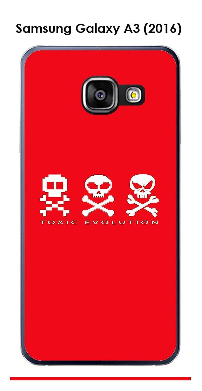 Onozo Carcasa Samsung Galaxy A3 (2016) A310 F Design Toxic ...