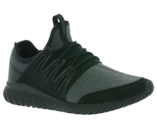545d804b48c adidas Originals Tubular Radial Junior Black  Amazon.co.uk  Shoes   Bags