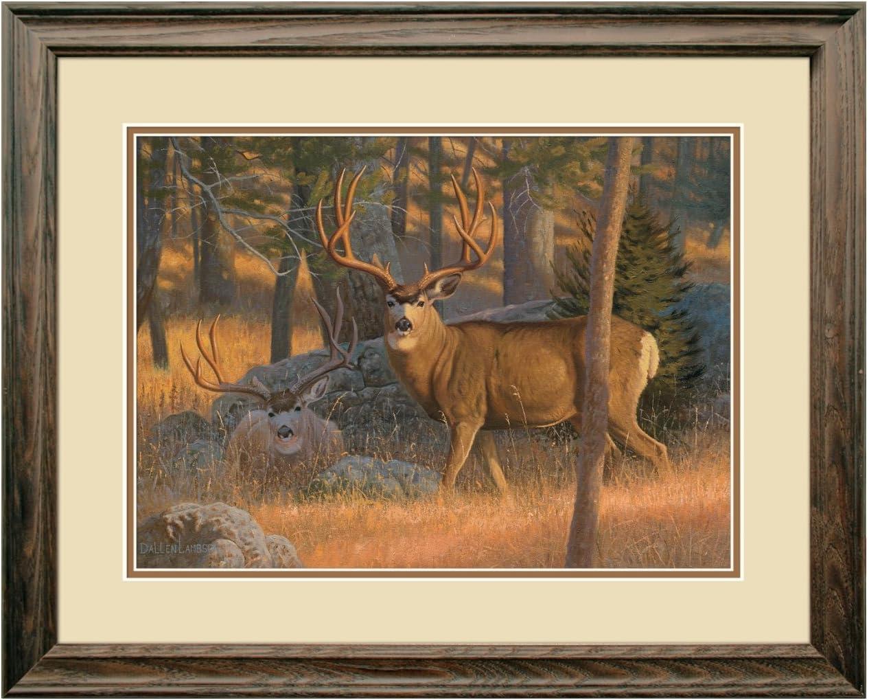 Reflective Art, The Bachelor Pad, Dark Walnut Framed, 18.5 by 22.5-inch