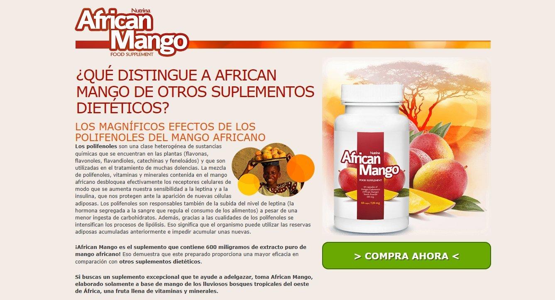 Vitaminas del mango