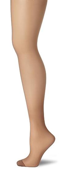 da64f478f Hanes Women s Silk Reflections Silky Sheer Non-Control Top RT 1 Pair Pack