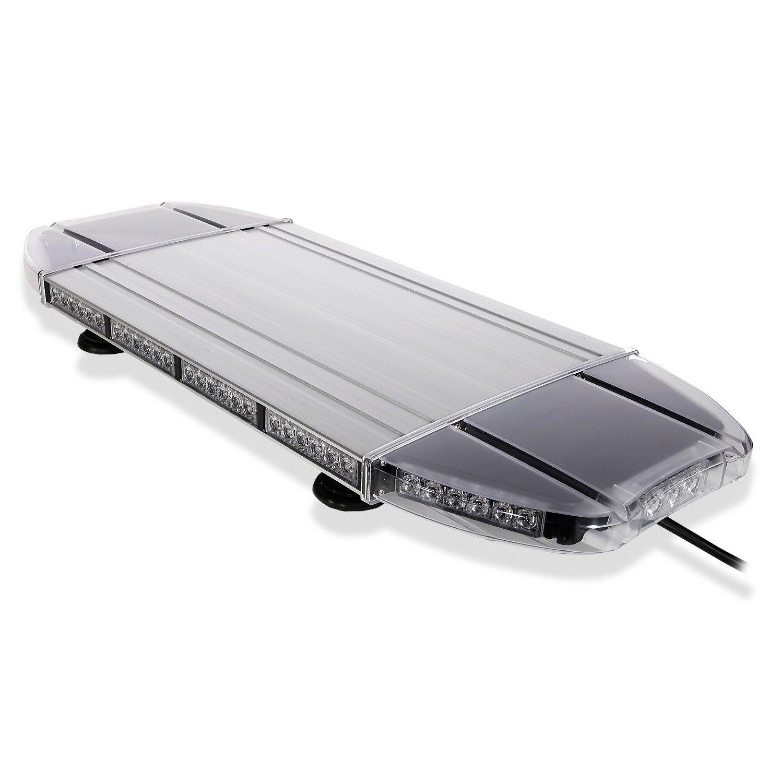 Aviator TIR Emergency 3 watt Low Profile Magnetic Roof Mount Mini LED Light Bar 27 in (Amber/White)