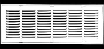 """Removable Face//Door 30/"""" X 30 Steel Return Air Filter Grille for 1/"""" Filter HV"""
