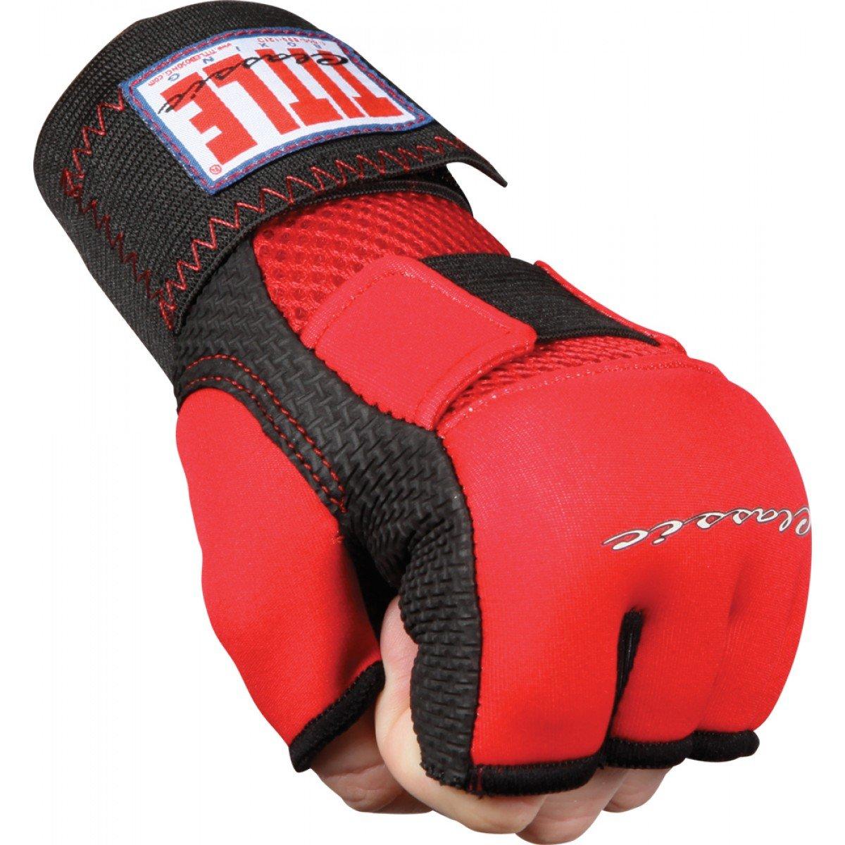 タイトルボクシングタイトルクラシックgel-x手袋ラップ、RD RD/BK BK/ BK Large RD Large/BK B006GV5NJU, ジェムバザール:9198676e --- capela.dominiotemporario.com