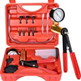 Thorstone 16PCS Brake Clutch Bleeder Tool Kit & Hand Held Vacuum Pump Tester with Adapters,One Man Operation for Bike…