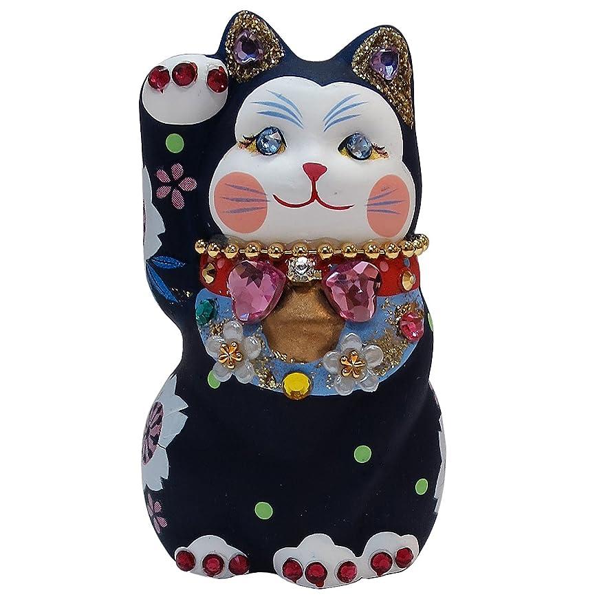 盲信良いペネロペサンアート 開運雑貨 「 運気上昇 」 ラッキーキャット 猫