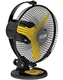 V-Guard Multiutility Fan- Selfee 225mm Yellow Black