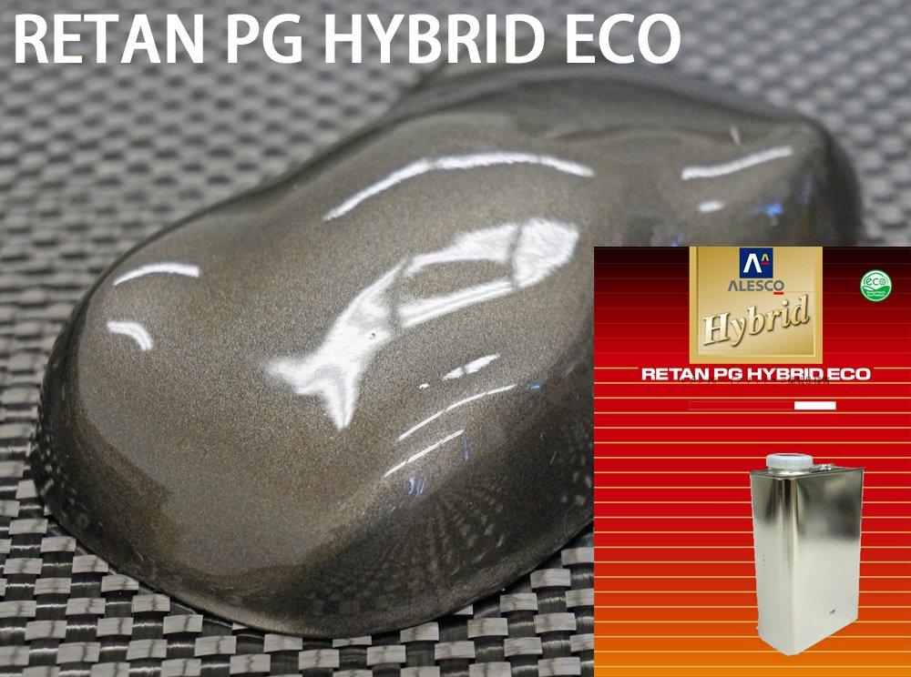 コスト削減に!レタンPG ハイブリッド エコ ガンメタリック 粗目 3kgセット(シンナー付)/ 自動車用 1液 ウレタン 塗料 関西ペイント ハイブリット (3) B072J3FN9X 3.0 キログラム