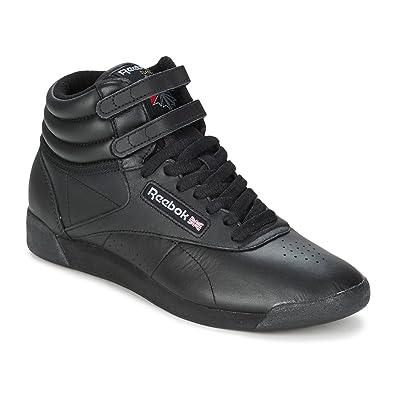 Reebok Classic Womens Freestyle Hi Schwarz Sneaker High 42 1