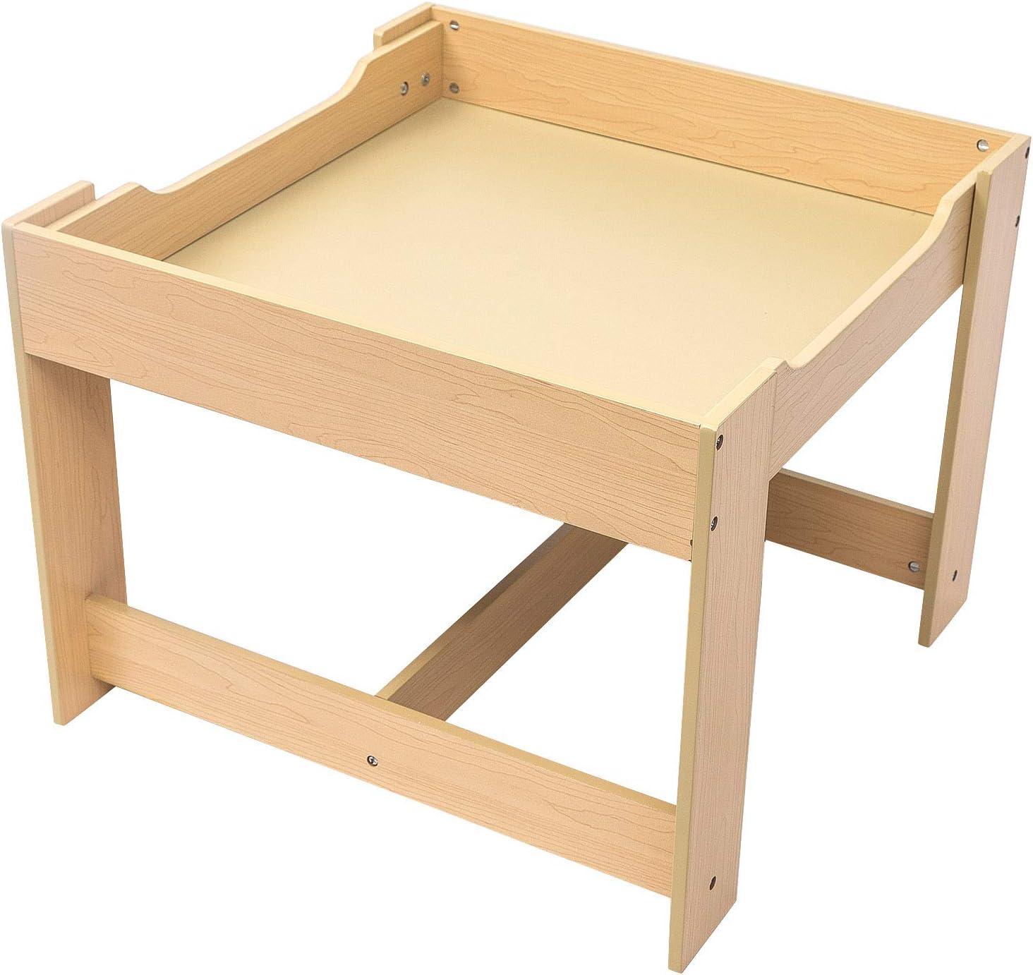 Esituro Tavolino E Sedie Per Bambini Tavolo Da Gioco In Legno Mobili Bambini Scts0005 Set Tavolo E Sedie Casa E Cucina