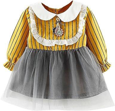 ✿Vestidos Bebe NiñA Verano Meses 18 Vestidos para NiñOs PequeñOs ...