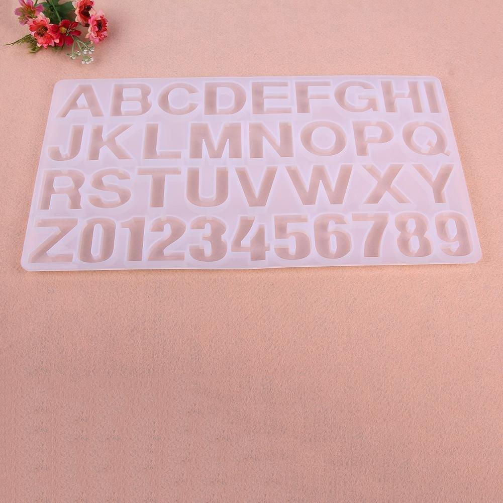 Motiv: Buchstaben YouN Kristall-Silikon-Harz-Form zur Herstellung von Anh/ängern Bastelprodukt